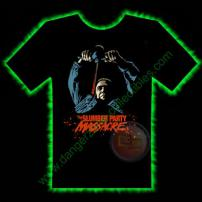 Slumber Party Massacre Horror T-Shirt by Fright Rags - EXTRA LARGE
