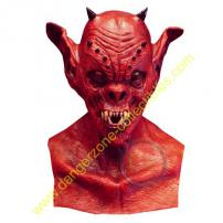 Demon Master Full Overhead Adult Latex Mask