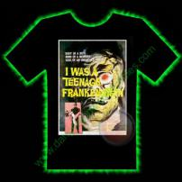 Teenage Frankenstein Horror T-Shirt by Fright Rags - MEDIUM