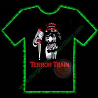 Terror Train Horror T-Shirt by Fright Rags - EXTRA LARGE