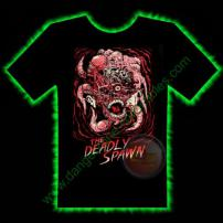 The Deadly Spawn Horror T-Shirt by Fright Rags - EXTRA LARGE