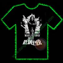 The Redeemer Horror T-Shirt by Fright Rags - EXTRA LARGE