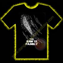 Texas Chainsaw Massacre Saw Is Family #2 Horror T-Shirt by Rotten Cotton - SMALL