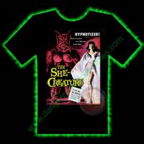 The She Creature Horror T-Shirt by Fright Rags - SMALL
