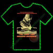 The Town That Dreaded Sundown Horror T-Shirt by Fright Rags - EXTRA LARGE
