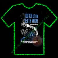 Twitch Of The Death Nerve Horror T-Shirt by Fright Rags - LARGE