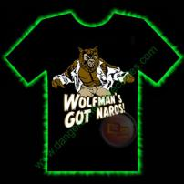 Wolfmans Got Nards Horror T-Shirt by Fright Rags - MEDIUM