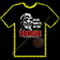 Zombie Horror T-Shirt by Rotten Cotton - LARGE