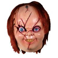 Bride Of Chucky Version 2 Full Overhead Mask by Trick Or Treat Studios