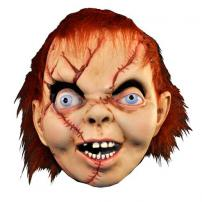 Bride Of Chucky Full Overhead Mask by Trick Or Treat Studios