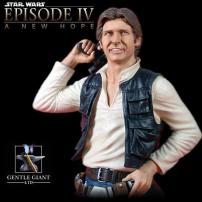 Star Wars Han Solo Mini Bust by Gentle Giant