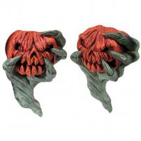 "Haunted Forest ""Pumpkin"" Sconces (Set of 2) by Rubie's."