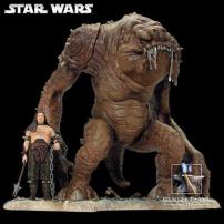 "Star Wars ""Rancor Monster"" Limited Edition Statue By Gentle Giant Studios."