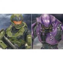 HALO Reach Series 2 Spartan CQC & Elite Minor Figure Twin Pack