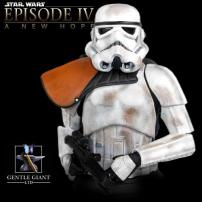Star Wars Sandtrooper Squad Leader Mini Bust by Gentle Giant