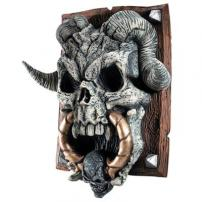 "Skull Crypt ""Skull"" Door Knocker by Rubie's"