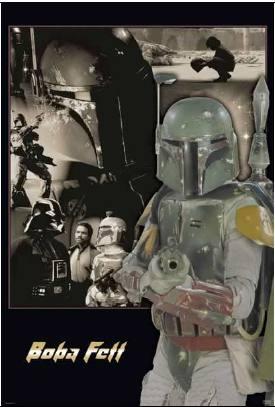 Star Wars Boba Fett Movie Style Poster