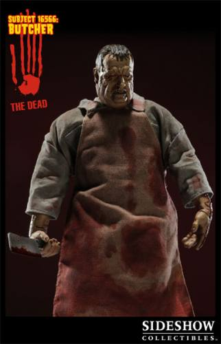 Bloody Jumpsuit Sideshow 1:6 The Dead 16566 The Butcher Figure