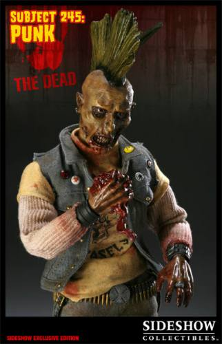 The Dead Subject 245 The Punk Exclusive Figure by Sideshow