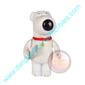 Family Guy Classics Series 1 Brian Griffin Figure by MEZCO.