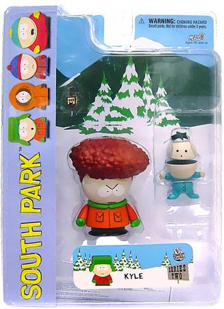 South Park Series 2 Afro Kyle Figure by MEZCO