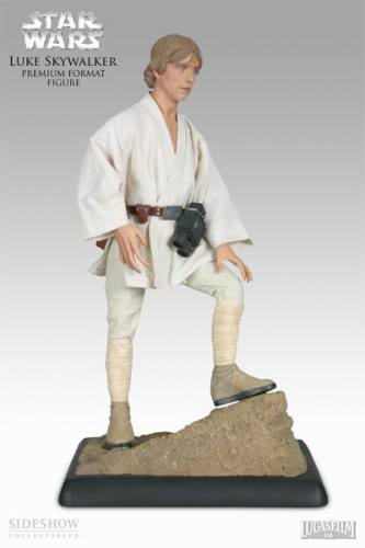 Star Wars Luke Skywalker 1/4 Scale Figure by Sideshow Collectibles.