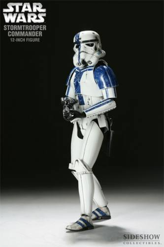 Star Wars Stormtrooper Commander Figure by Sideshow Collectibles