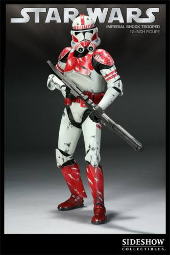 Star Wars Imperial Shock Trooper Figure by Sideshow Collectibles