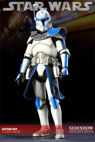 Star Wars Captain Rex Figure by Sideshow Collectibles