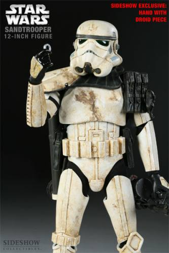 Star Wars Sandtrooper Figure Sideshow Exclusive