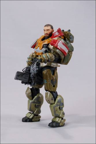 HALO Reach Series 4 Jorge Figure (No Helmet) by McFarlane
