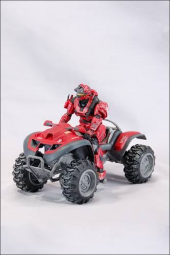 HALO Reach Series 4 Red Team Scout Mongoose Set