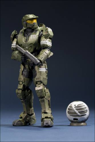HALO Anniversary Series 2 Master Chief (The Package) Figure by McFarlane