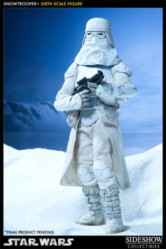 Star Wars Snowtrooper Figure by Sideshow Collectibles