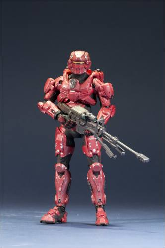 HALO 4 Series 1 Spartan Warrior (Red) Figure by McFarlane