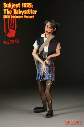 The Dead Subject 1025 The Babysitter Exclusive Figure by Sideshow