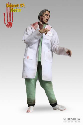 The Dead Subject 57 The Doctor Figure by Sideshow Collectibles