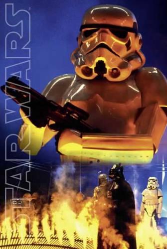 Star Wars Stormtrooper Movie Style Poster