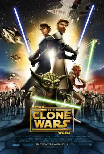Star Wars The Clone Wars (C) Movie Poster