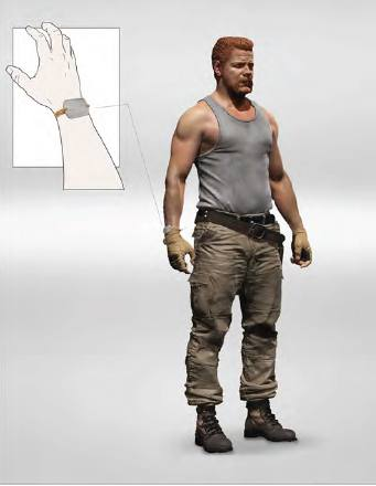 The Walking Dead TV Series 9 Abraham Ford Figure by McFarlane