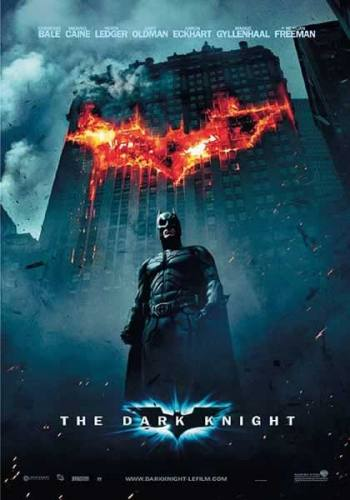 Batman The Dark Knight Fire Movie Poster