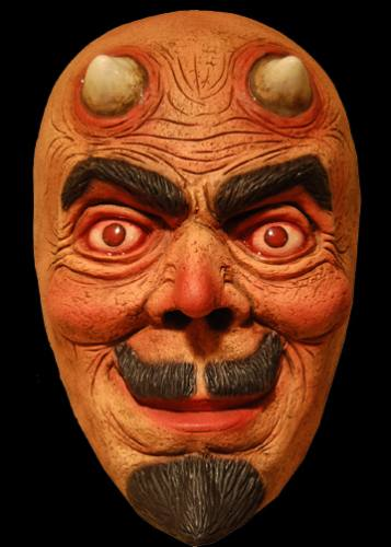 Devil Face Only Mask by Trick Or Treat Studios