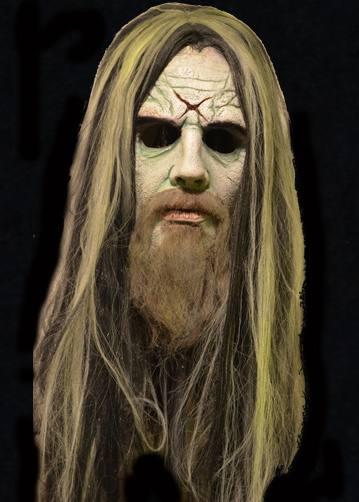 ROB ZOMBIE Hellbilly Overhead Latex Mask