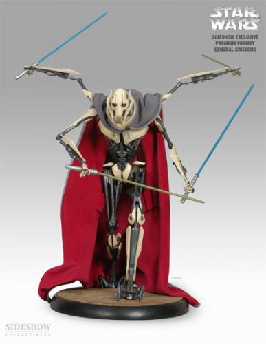 Star Wars General Grievous Premium Format Figure Sideshow Exclusive