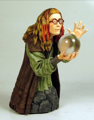 Harry Potter Professor Trelawney Mini Bust by Gentle Giant