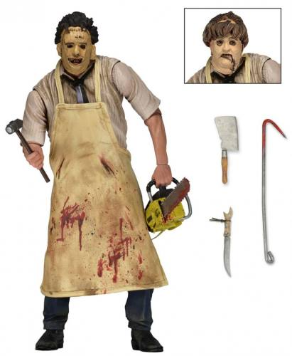 Texas Chainsaw Massacre 1974 Ultimate Leatherface Action Figure by NECA
