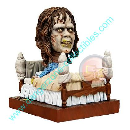 The Exorcist Regan Resin Bobble Head Knocker by NECA.