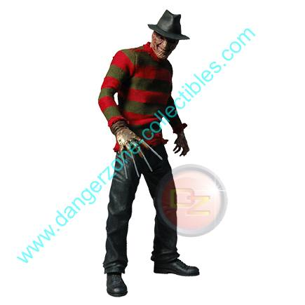 Cinema Of Fear 12 inch Freddy Krueger Figure by MEZCO