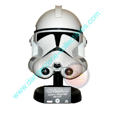 Star Wars .45 Scaled Replica Clone Trooper Helmet by Master Replicas
