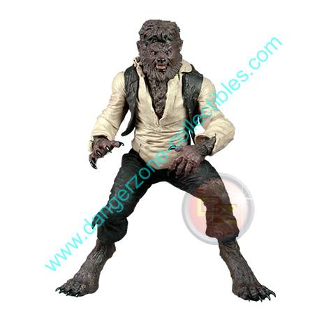 The Wolfman 7 Inch Scale Figure by MEZCO